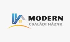 Modern családi házak építése