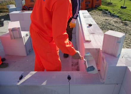 Beton falazóblokk építőanyag
